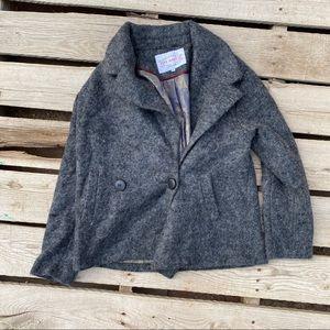 Pink Martini grey short coat
